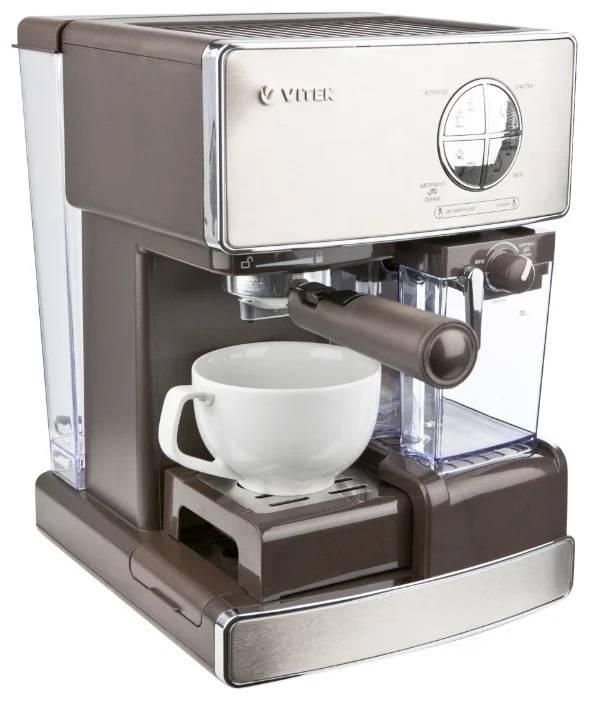 Кофеварки vitek (витек) - бренд, ассортимент капельных и рожковых моделей. стоит ли покупать?