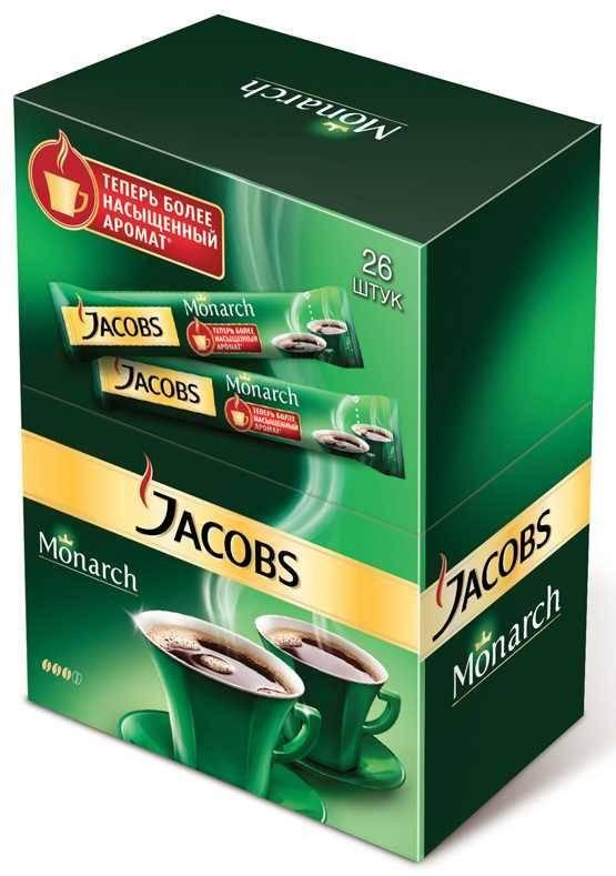 Якобс монарх: кофе молотый, в зернах и растворимый