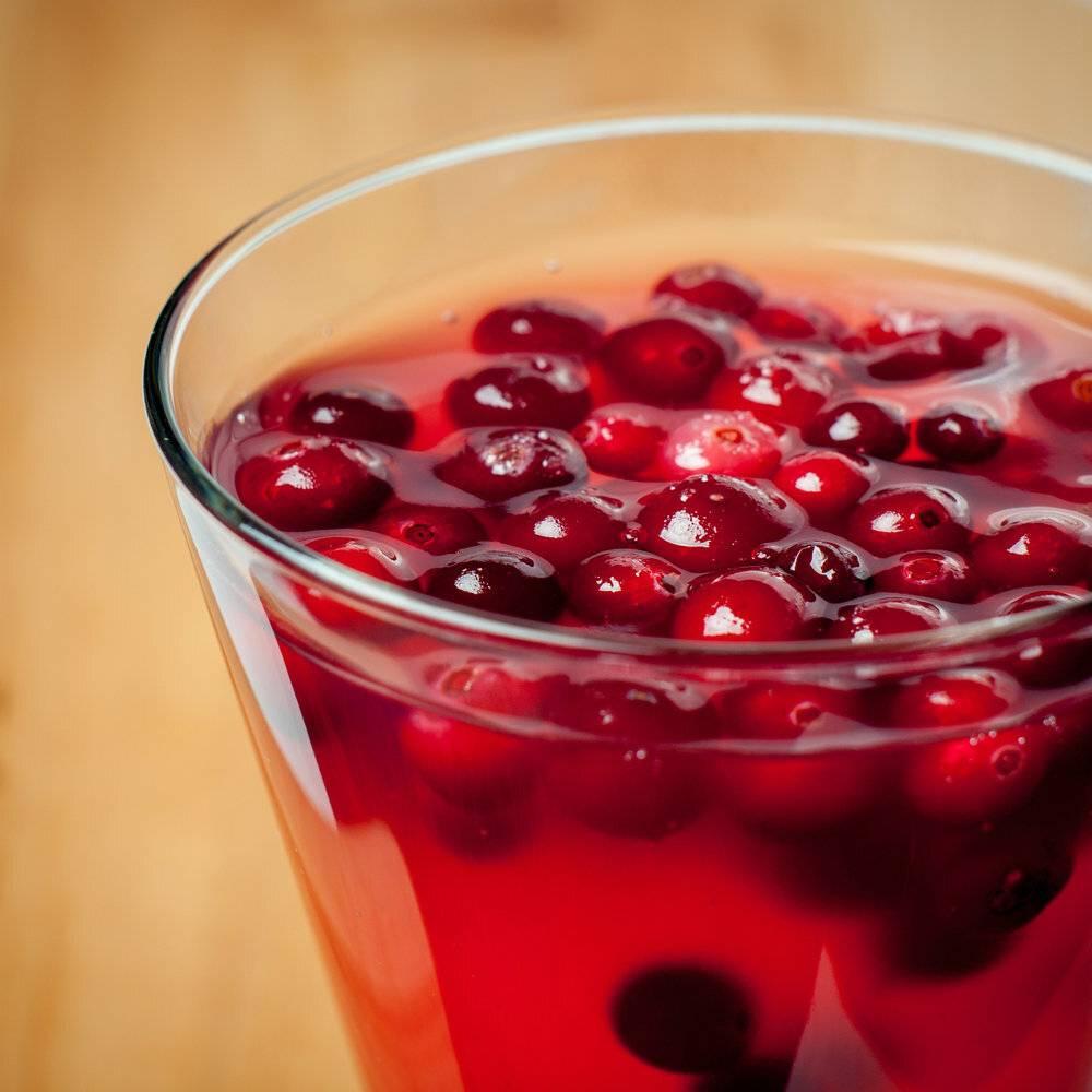 Рецепт киселя с крахмалом из замороженных ягод