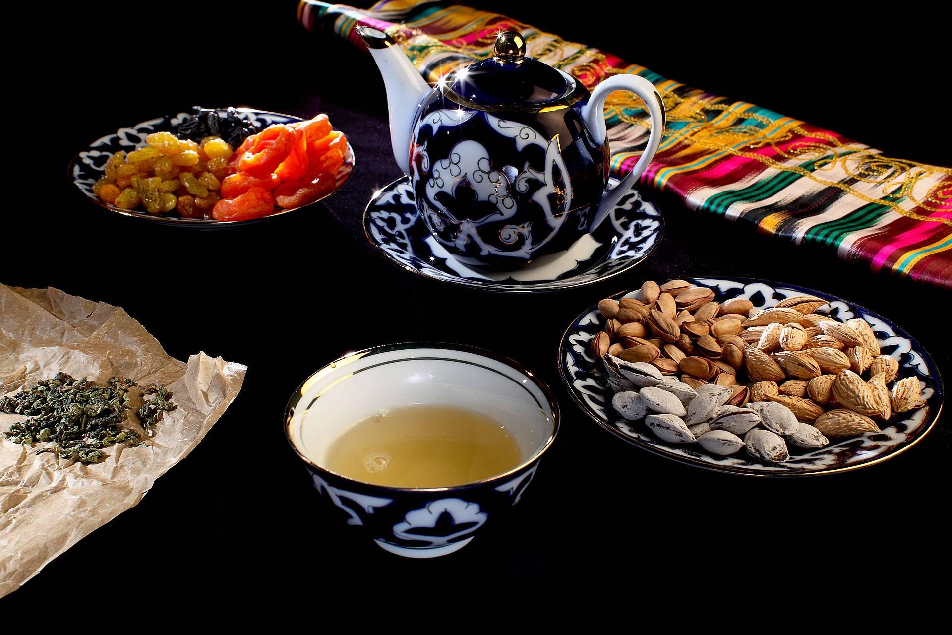 Польза узбекского зеленого чая