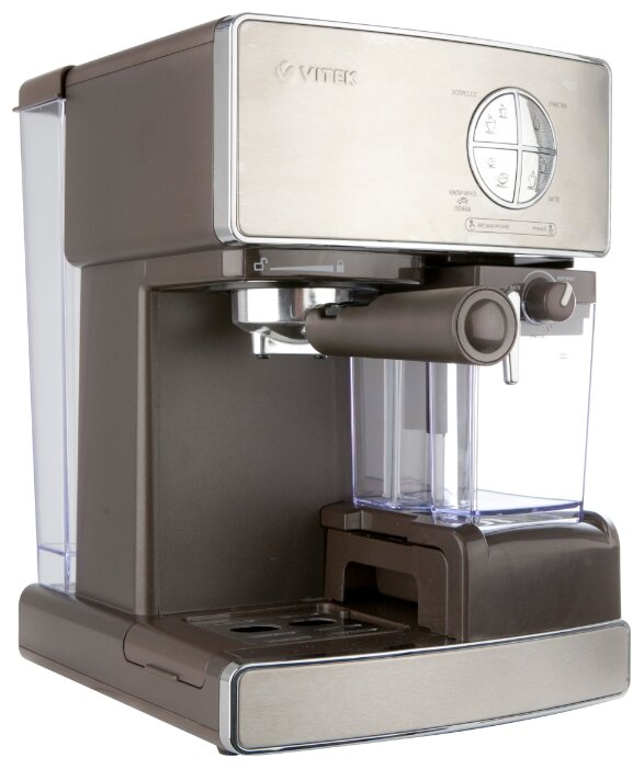 Кофемашина vitek: с капучинатором, кофеварка витек, инструкция по эксплуатации
