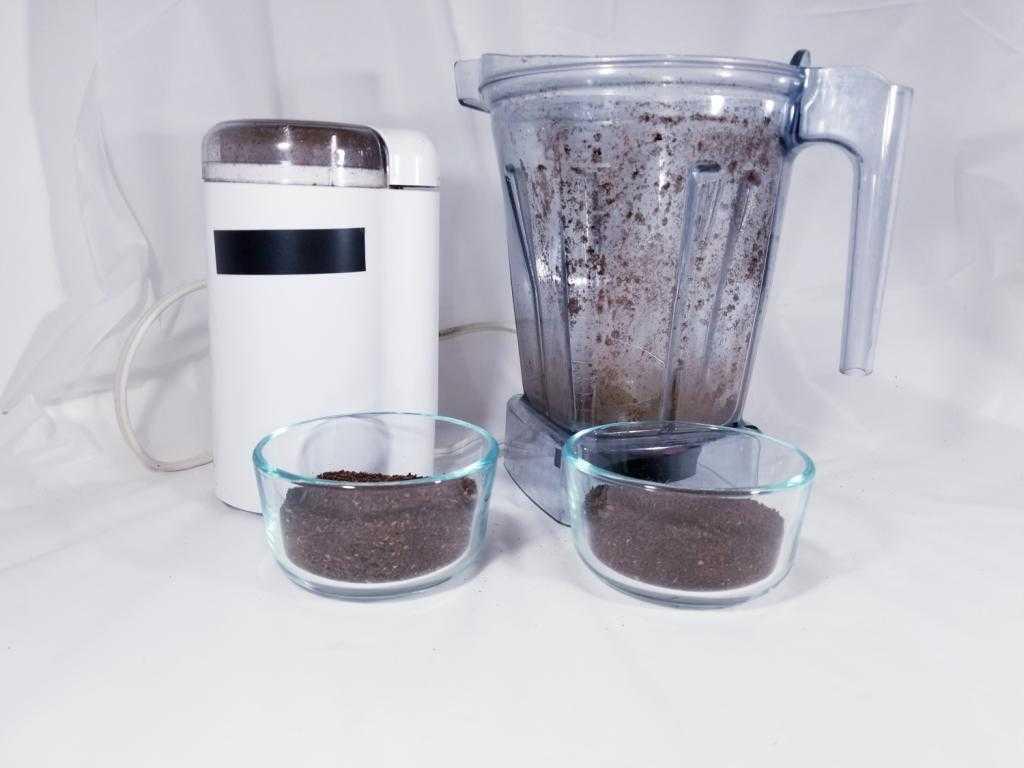 Блендер-кофемолка: можно ли молоть кофе в блендере