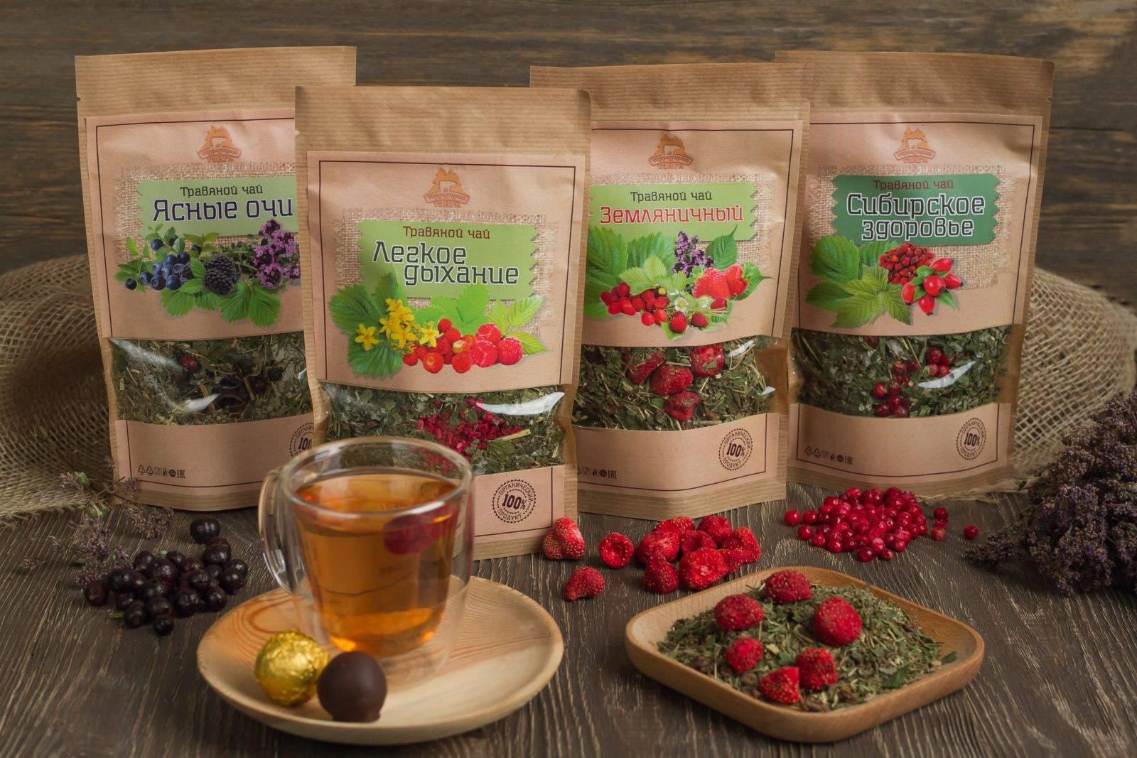 Полезные травяные чаи на каждый день: рецепты для дома