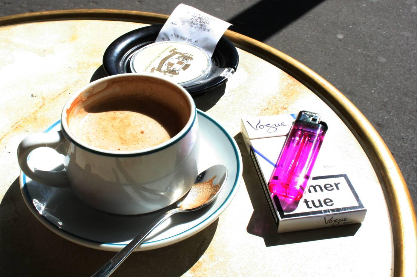 Кофе и сигарета: вместе — опаснее!