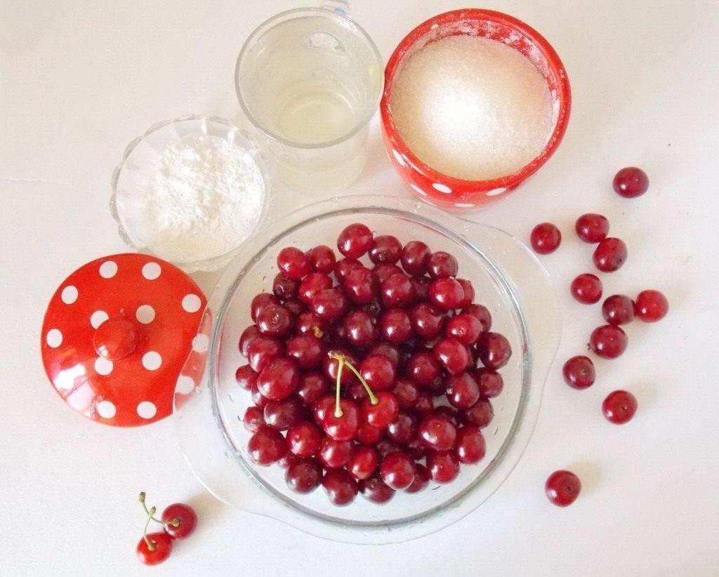 Кисель рецепт вишневый густой в тарелках - здоровая еда