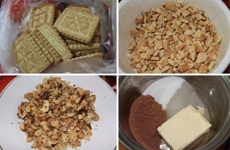 Пошаговые рецепты вкусной шоколадной колбасы из печенья: как готовить домашнюю шоколадную колбасу с печеньем и без, со сгущенкой, с какао, с шоколадом и другими ингредиентами   qulady