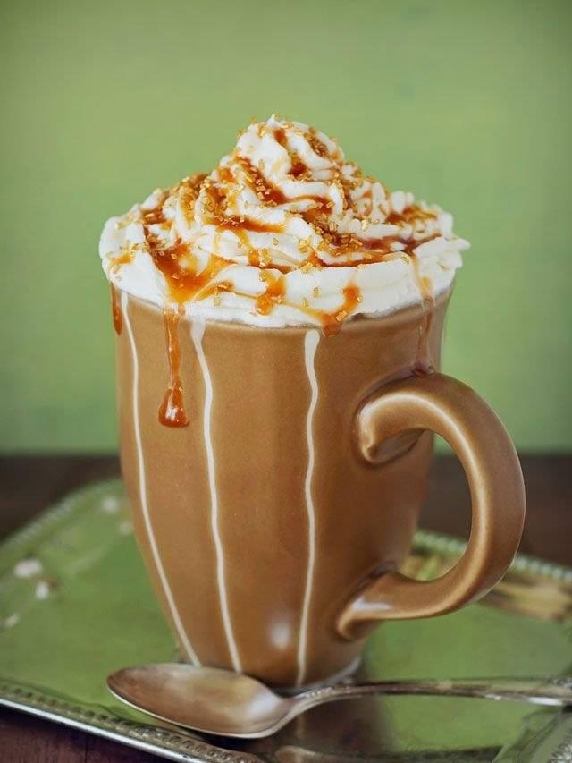 Кофе с карамелью – рецепты и тонкости приготовления: рассмотрим вопрос