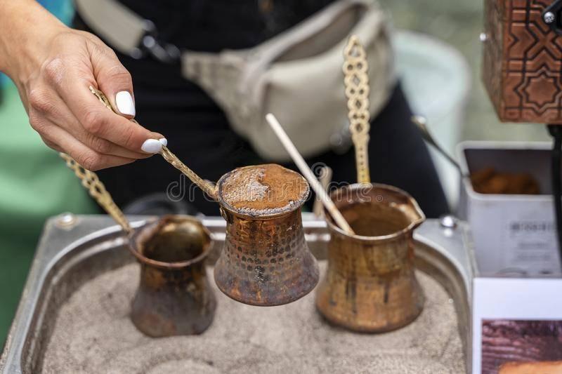 Турецкий кофе: история, классический рецепт, популярные марки
