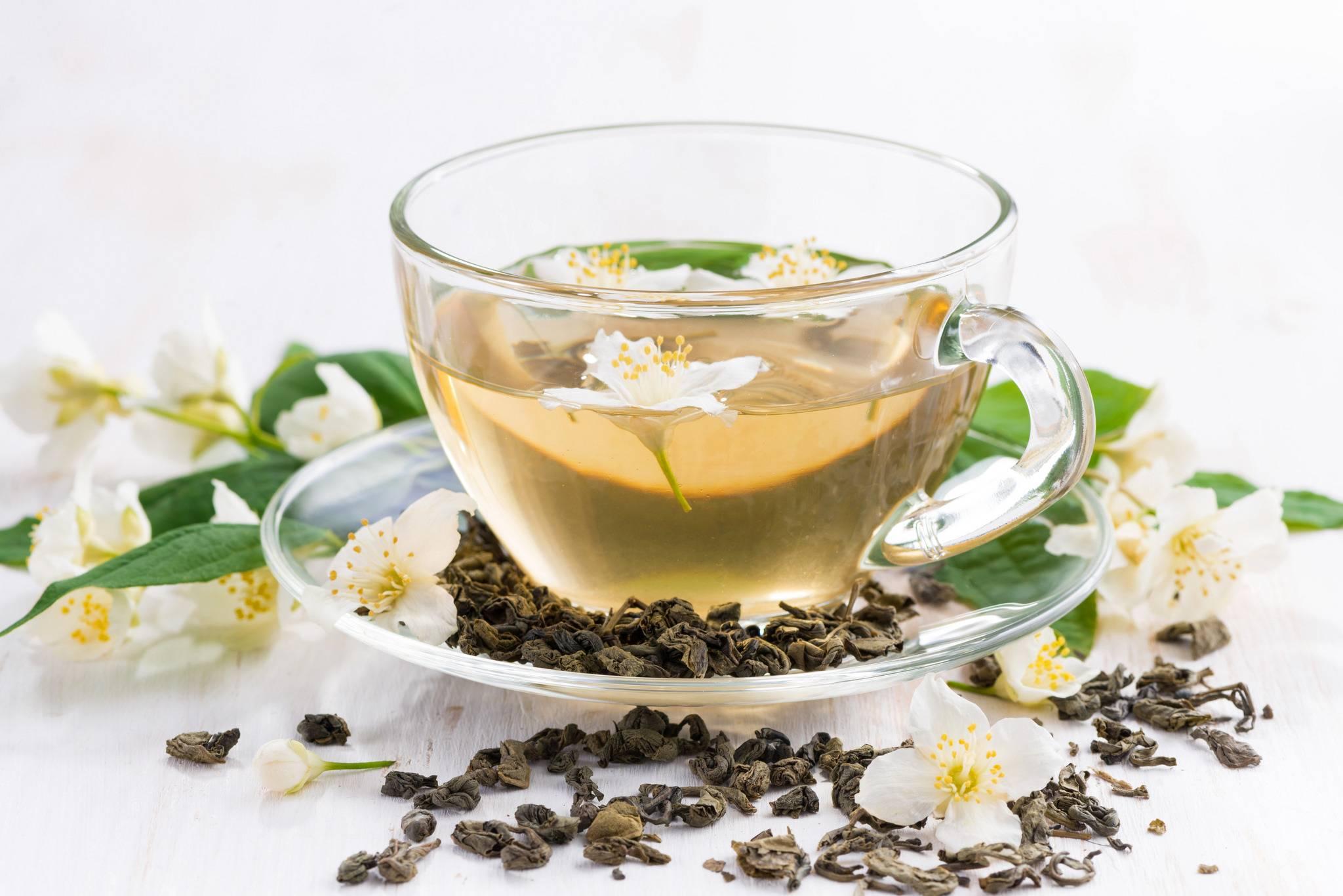 Жасминовый чай: польза и вред зеленого чая с жасмином, свойства, как заваривать