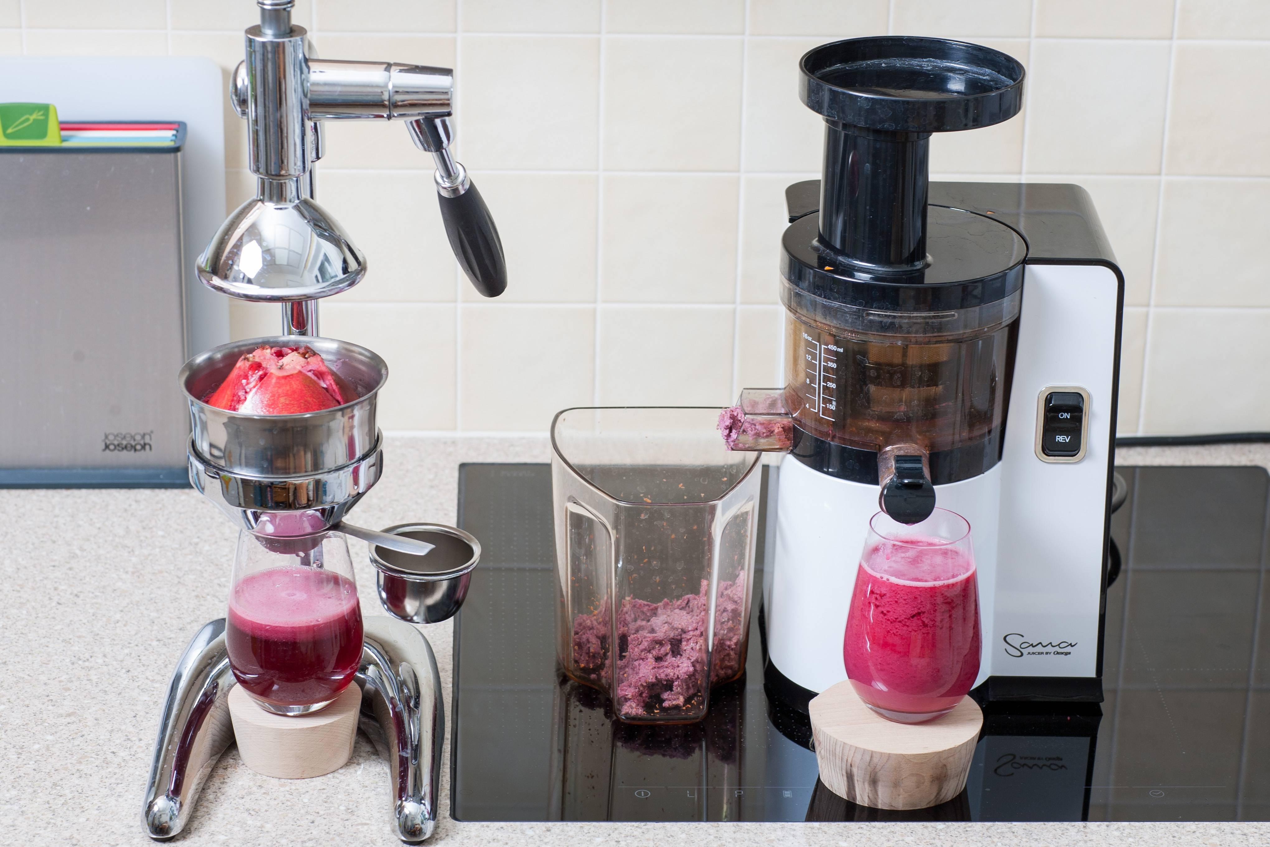Как отжать гранатовый сок в домашних условиях