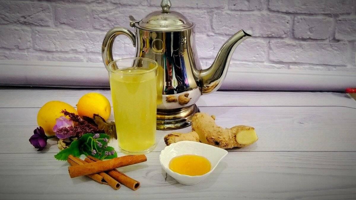 Имбирный чай с лимоном и медом: рецепт, польза, как заваривать