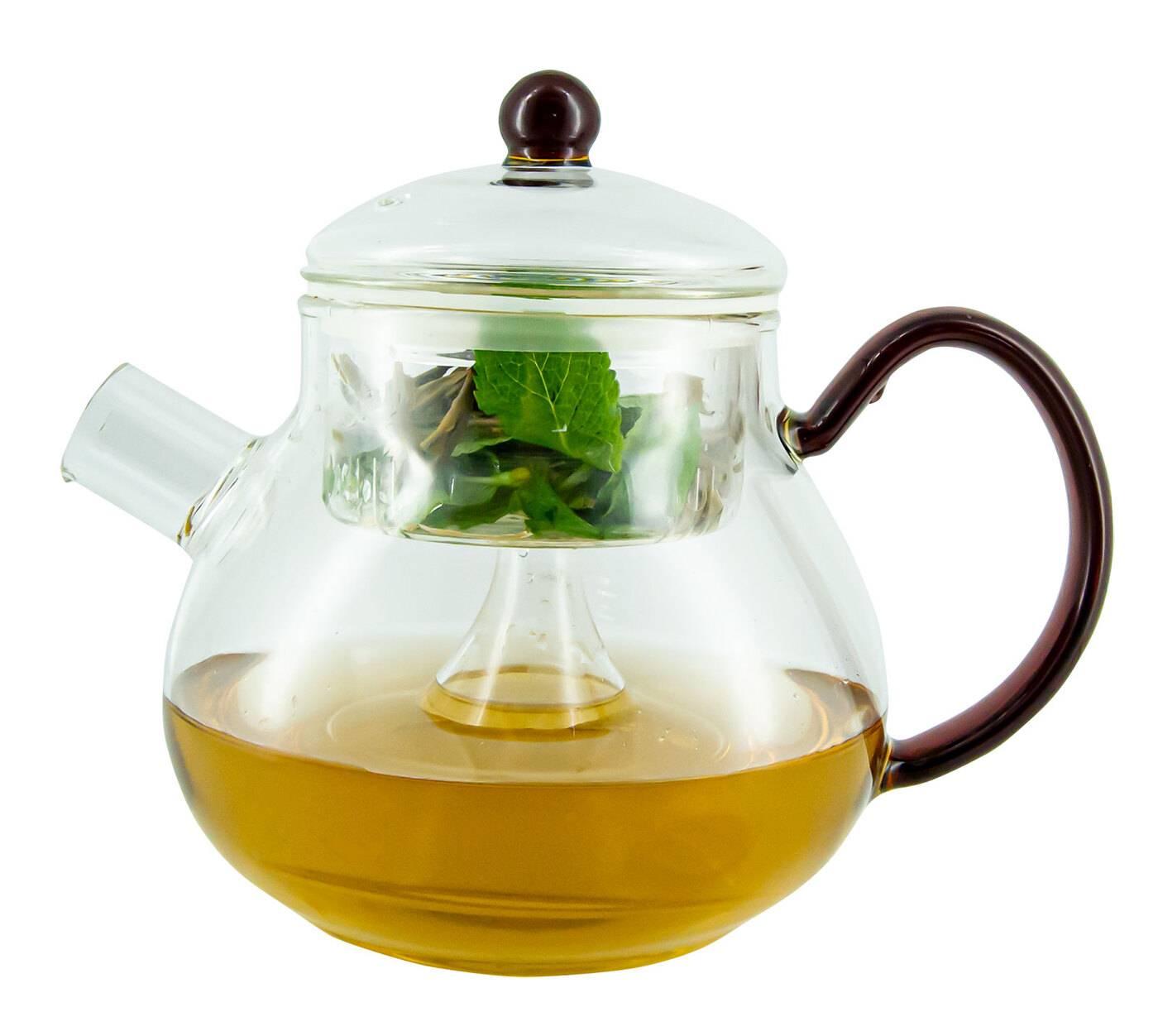 Как выбрать заварочный чайник с фильтром по механизму фильтрации и материалам