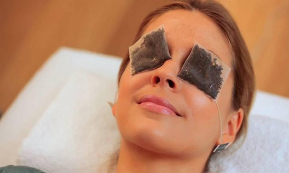 Чайный компресс для глаз от мешков и синяков - эффективность, отзывы