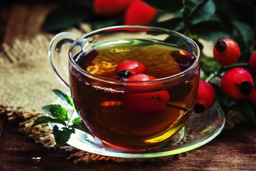 Чай с шиповником: польза и вред, как заваривать, рецепты