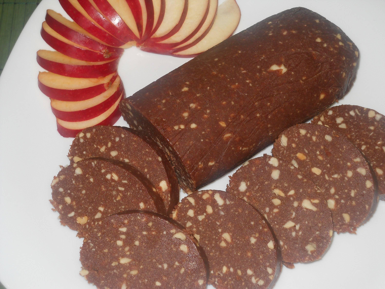 Шоколадная колбаска из печенья со сгущенкой - лучшие рецепты о вкусом из детства