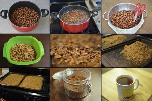 Желудевый кофе польза и вред