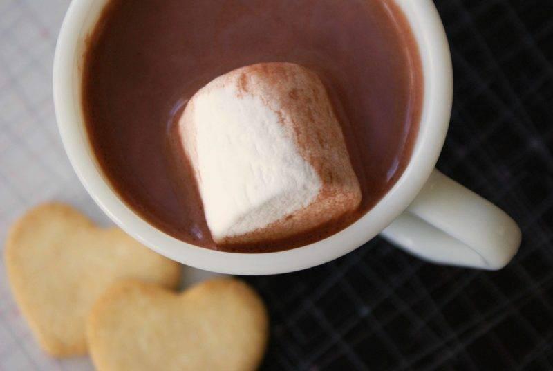 Горячий шоколад из какао