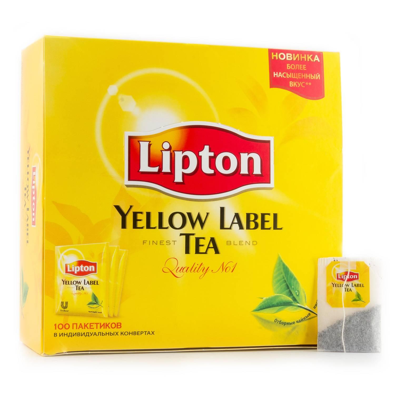 Подробное описание ассортимента чая «липтон» от зеленого до эрл грея