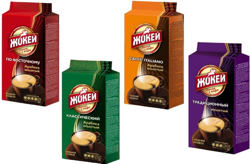 Ассортимент кофе «жокей» – характеристика вкуса и аромата