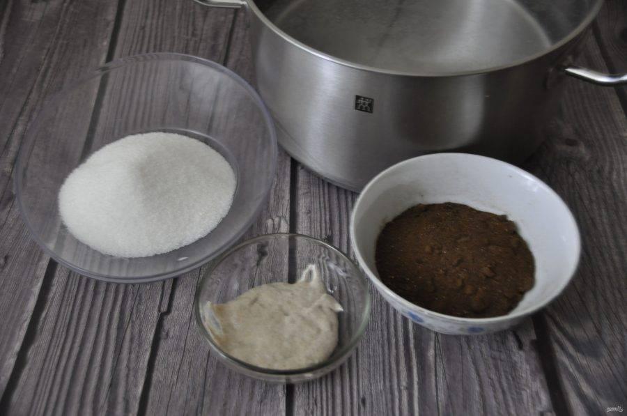 Квас из солода на ржаной закваске в домашних условиях