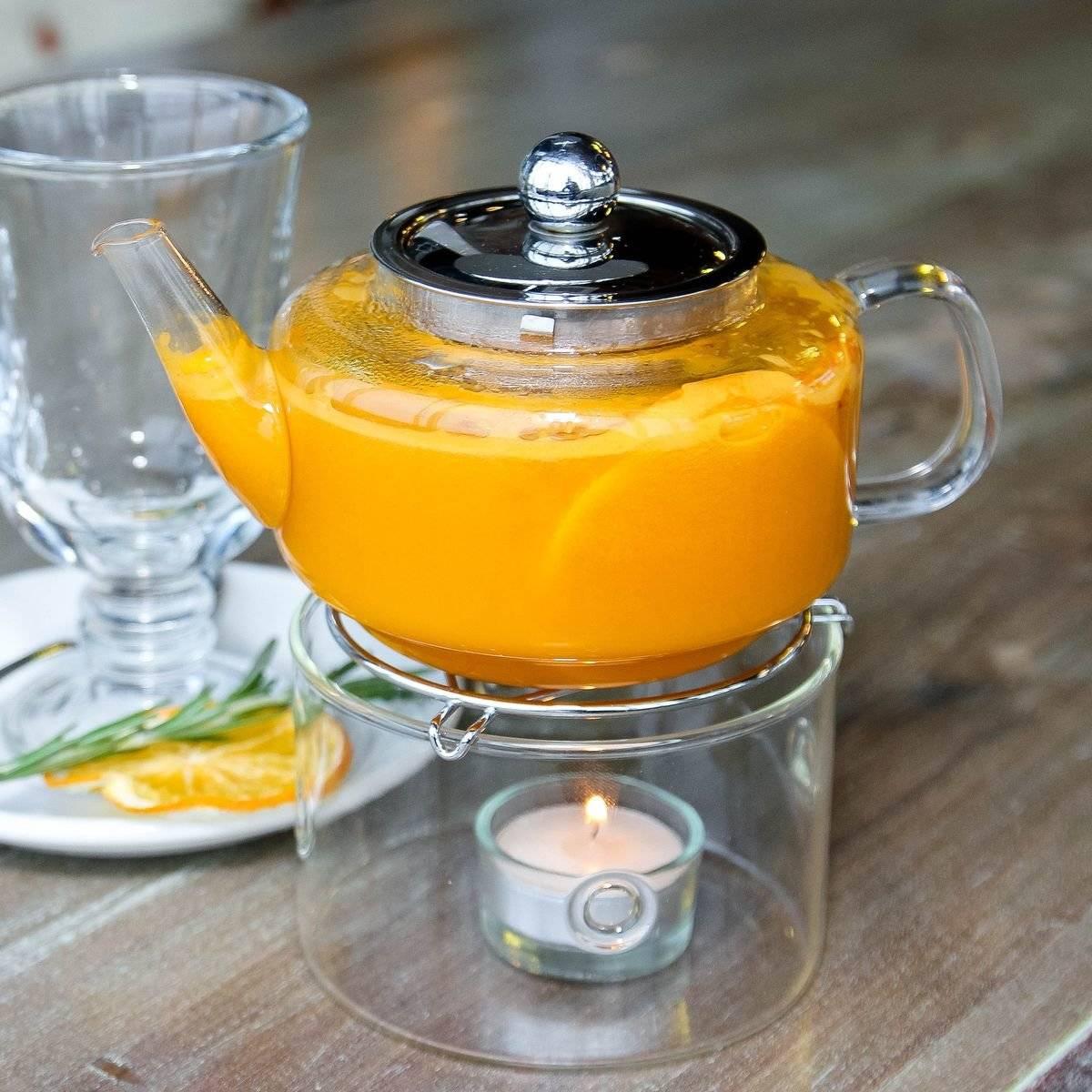 Идеальный напиток – чай с ароматной облепихой