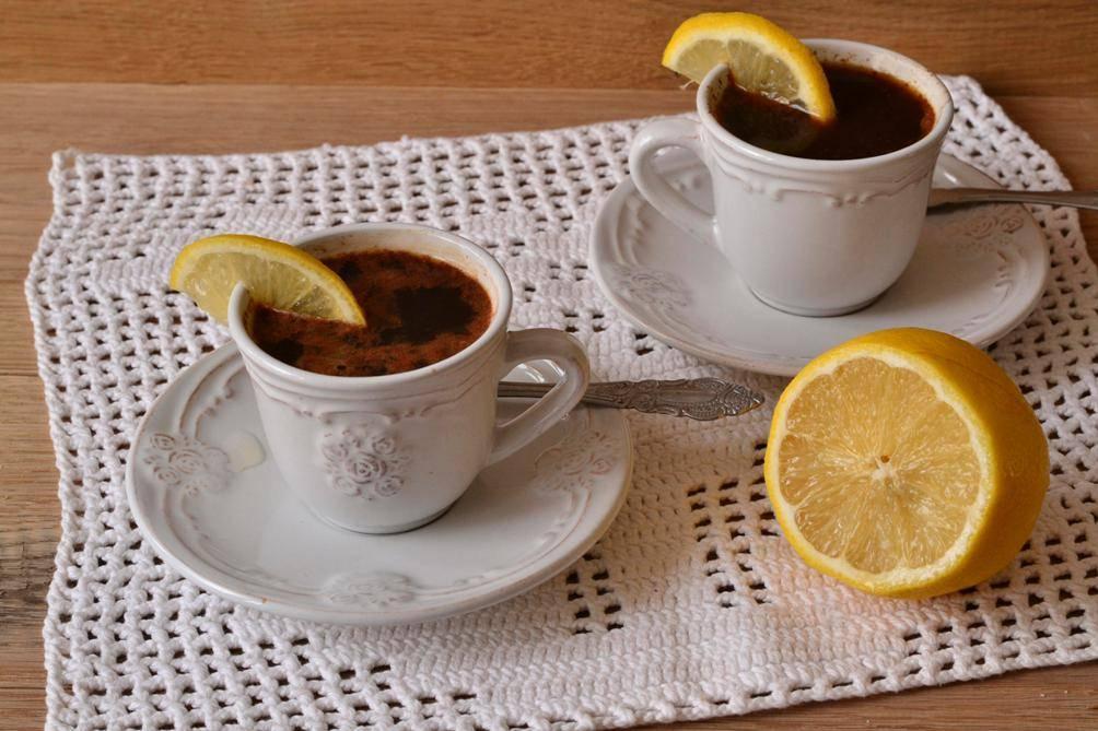 Кофе с лимоном: польза и вред для похудения, отзывы, калорийность
