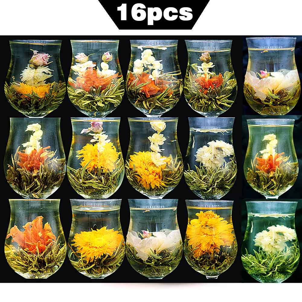 Чай в виде цветка польза