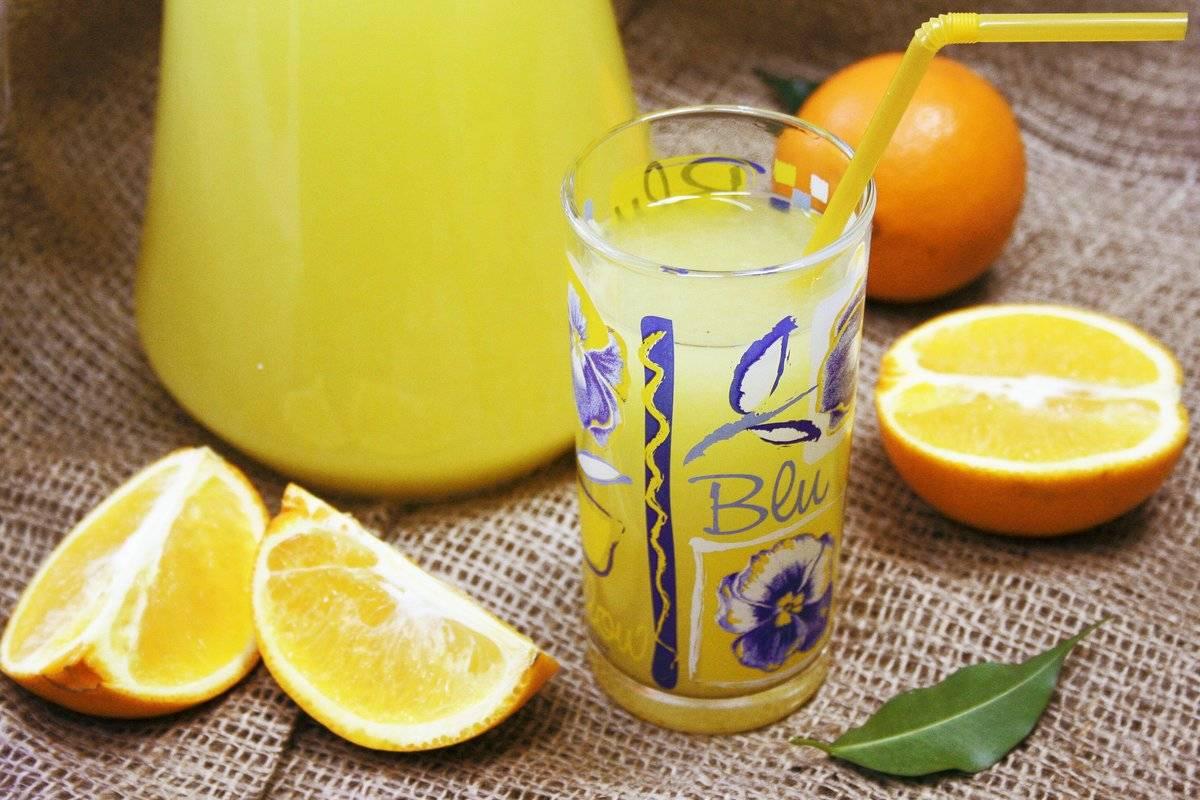 Как сделать домашний лимонад из апельсинов: рецепты
