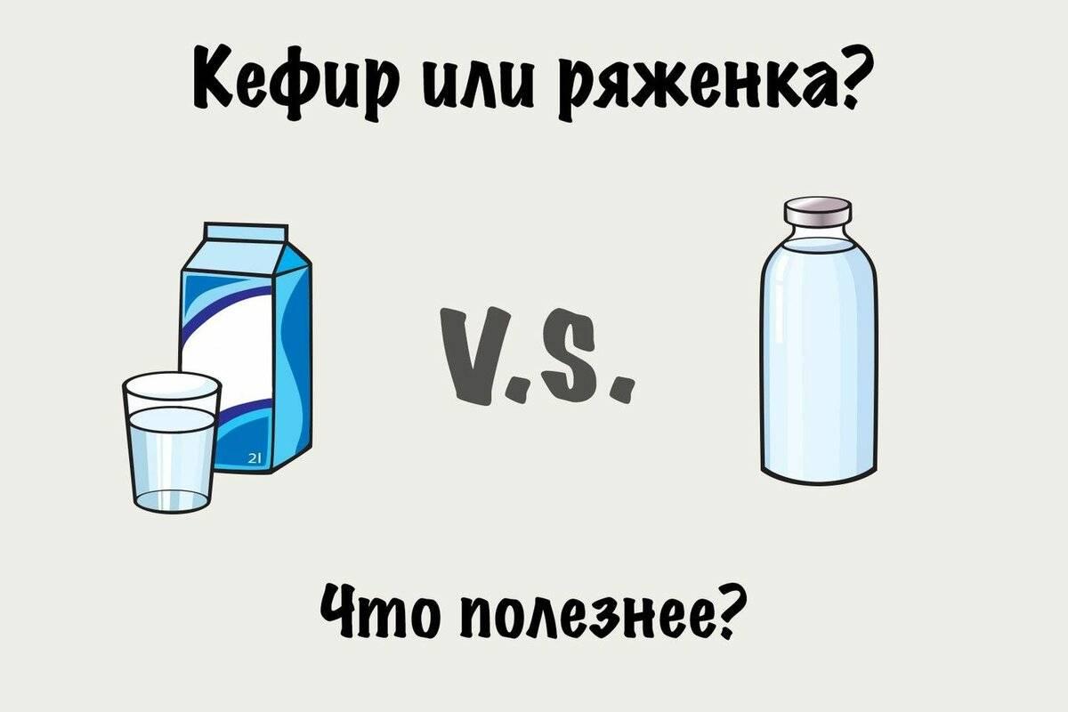 Ряженка или кефир что полезнее для кишечника | tsitologiya.su