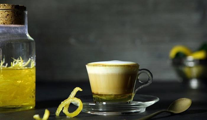 Кофе с лимоном - яркий вкус и двойной заряд бодрости