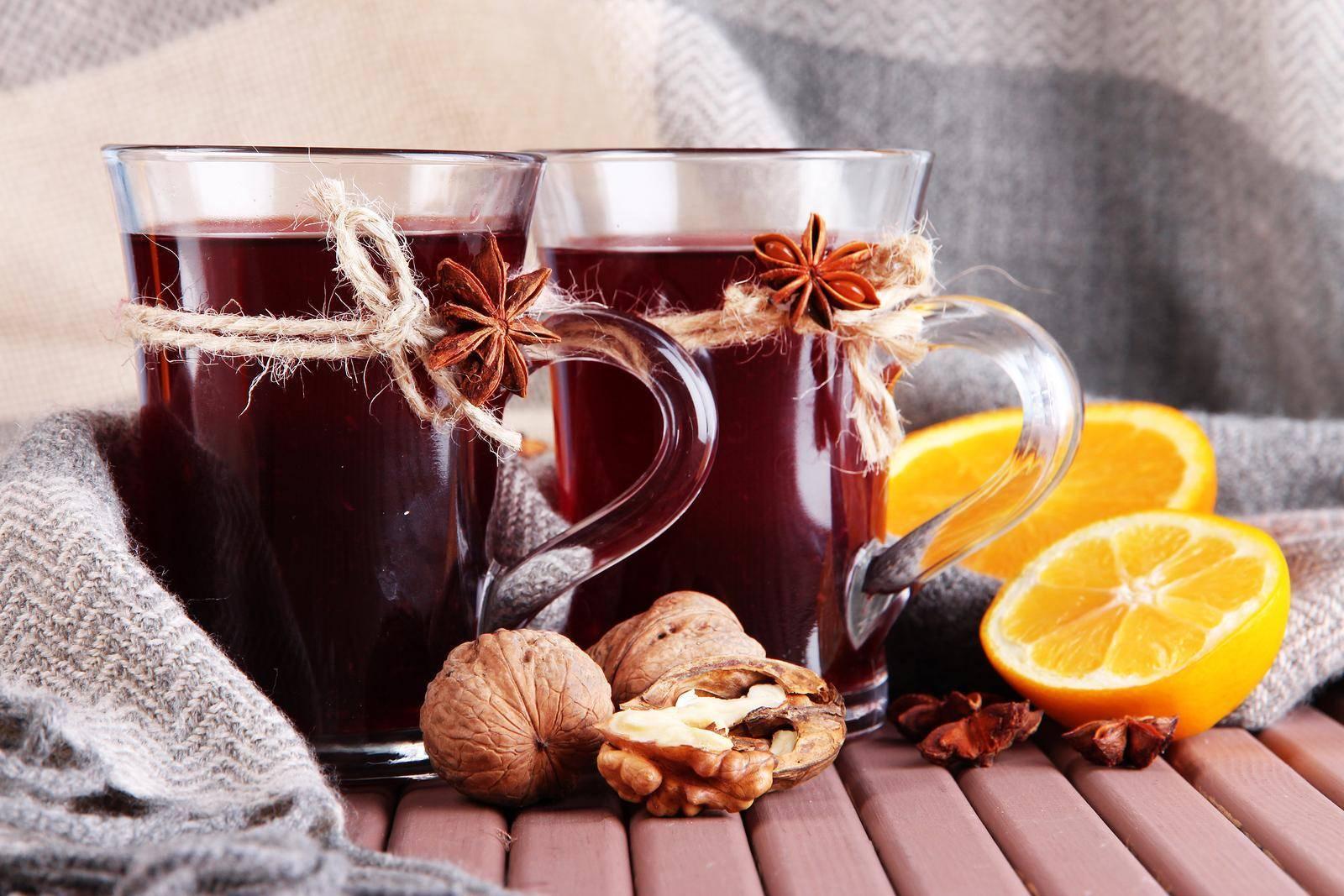 Безалкогольный глинтвейн в домашних условиях: 6 рецептов