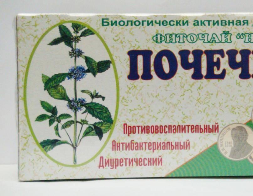 Полезные свойства почечного чая, показания и противопоказания к его употреблению