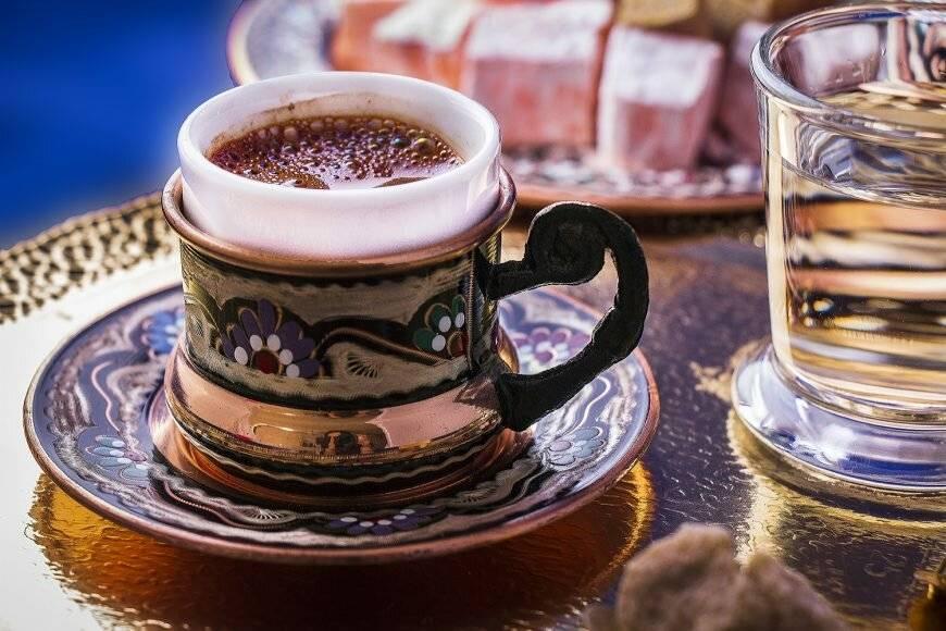 Характеристика и рецепт турецкого кофе