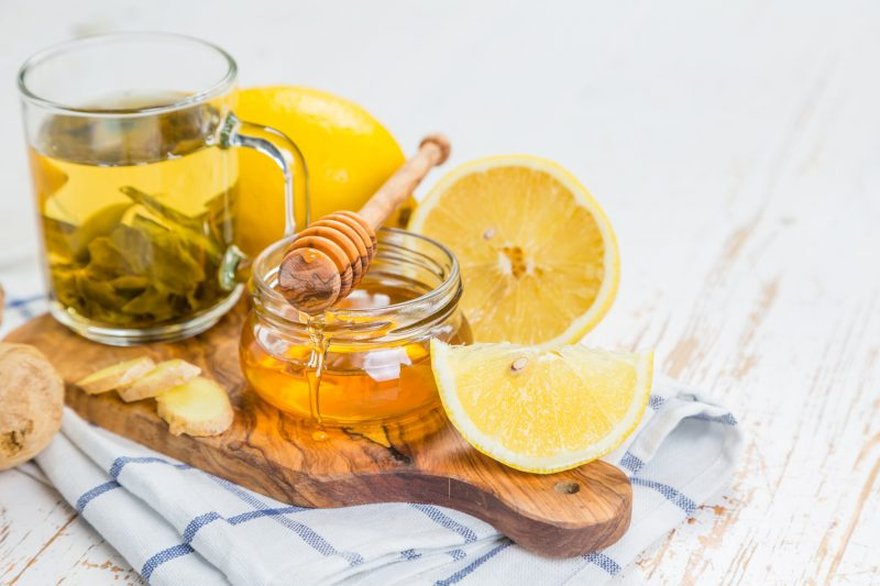 Чай с имбирем и с медом: рецепт напитка от простуды, для похудения