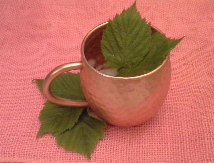 Чай из малиновых листьев польза и вред