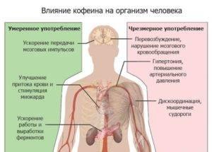 Отравление кофеином:симптомы и признаки, первая помощь и лечение