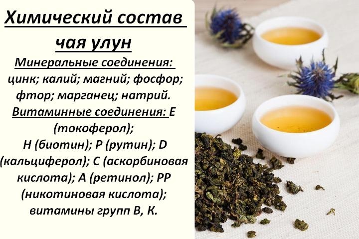 Чем полезен чай молочный улун для организма?