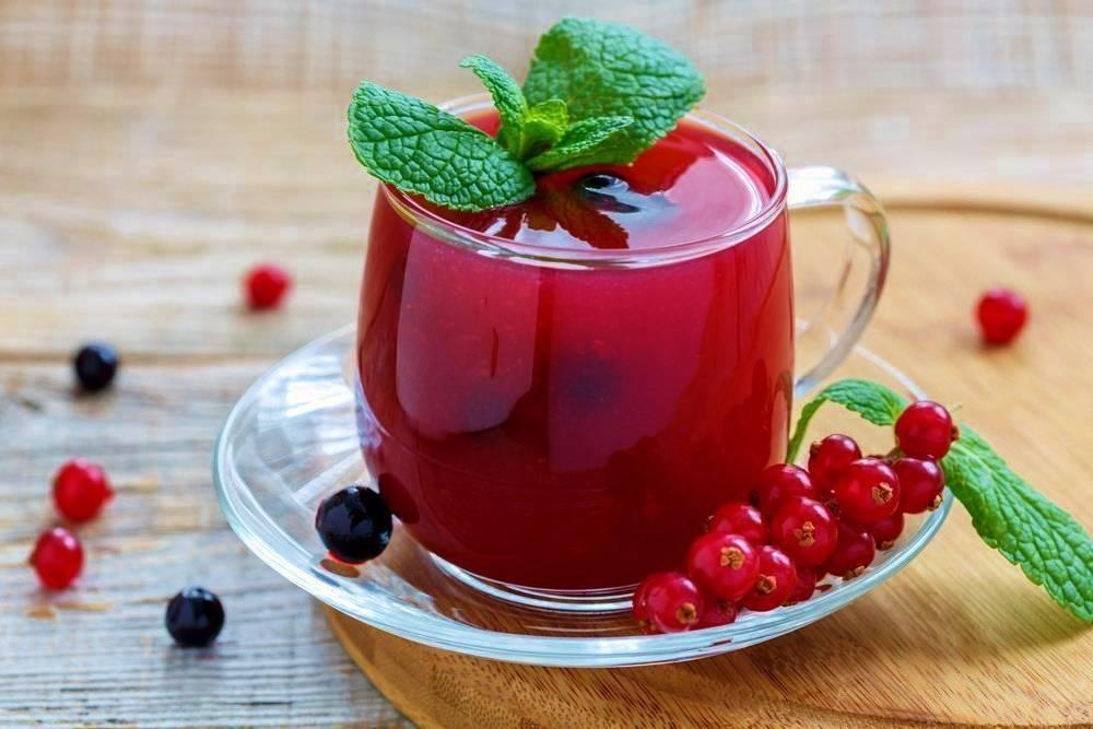 Кисель из замороженных ягод – рецепты из черники, клюквы и вишни. как приготовить густой и жидкий кисель из ягод и крахмала?