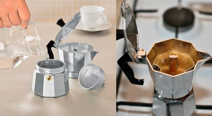 Обзор: гейзерная кофеварка или турка — что лучше?