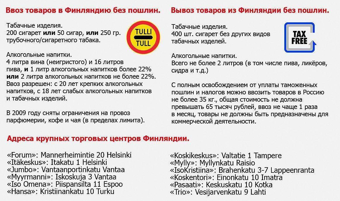 Таможенные правила ввоза и вывоза товаров из армении