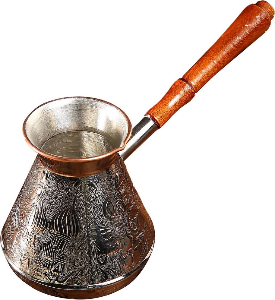 Как выбрать лучшую турку для варки кофе: материал, объем и дизайн