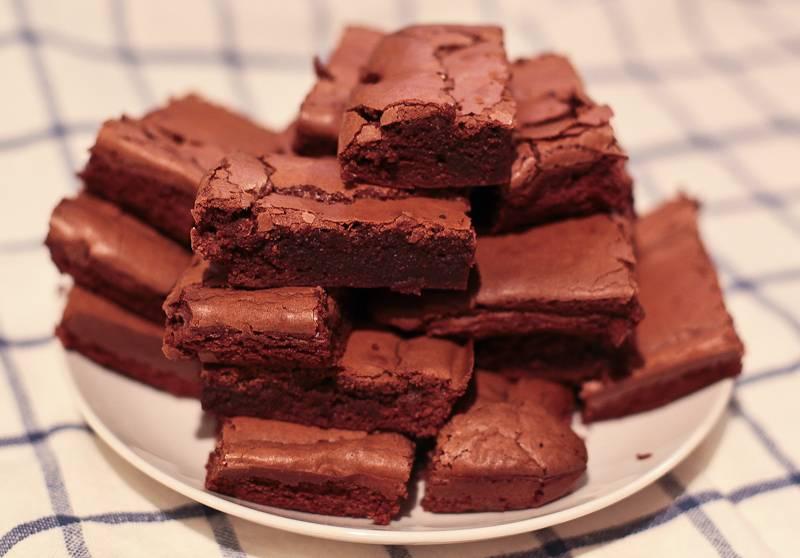 Шоколадный брауни с какао порошком в домашних условиях — классический рецепт