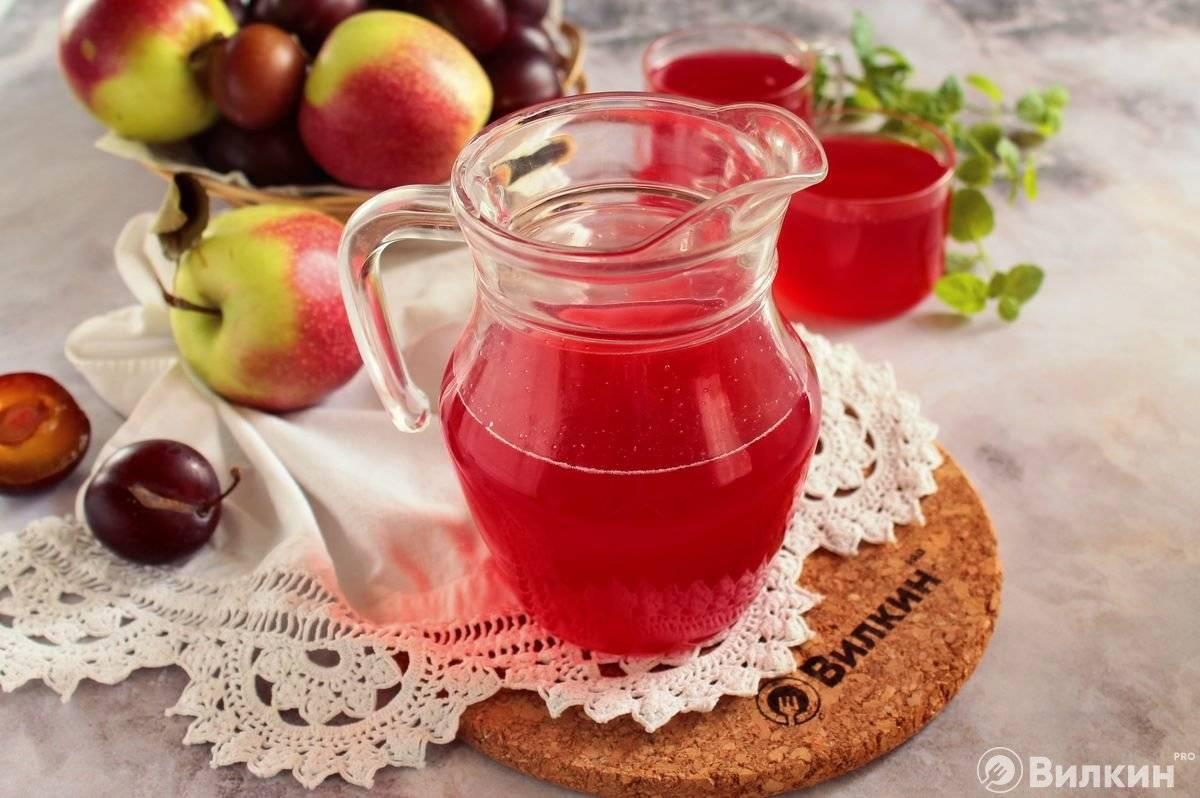 Рецепт киселя из сливы – вкусного и питательного напитка
