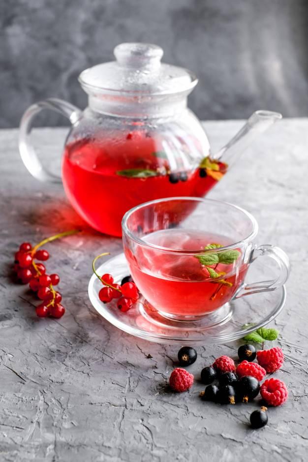 Фруктовый чай, немного о нем: как заваривать, рецепты ягодного чая с фруктами
