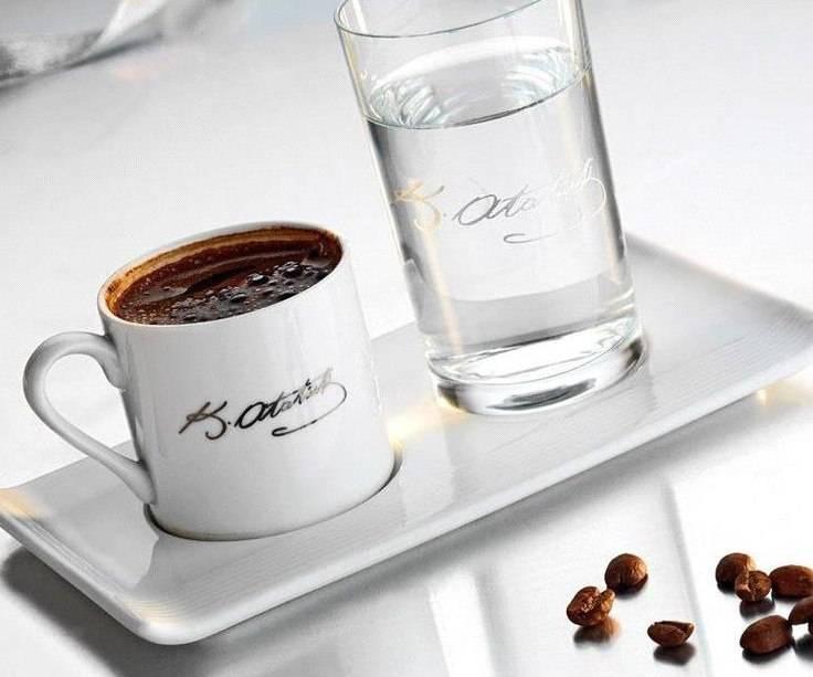Зачем подают воду к кофе, как правильно пить