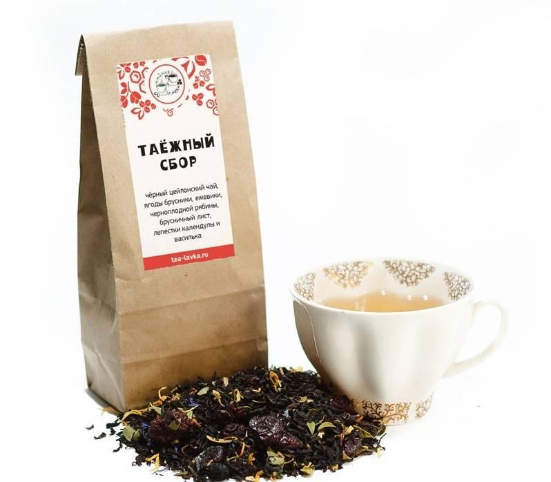 Таежный чай - состав, полезные свойства и применение