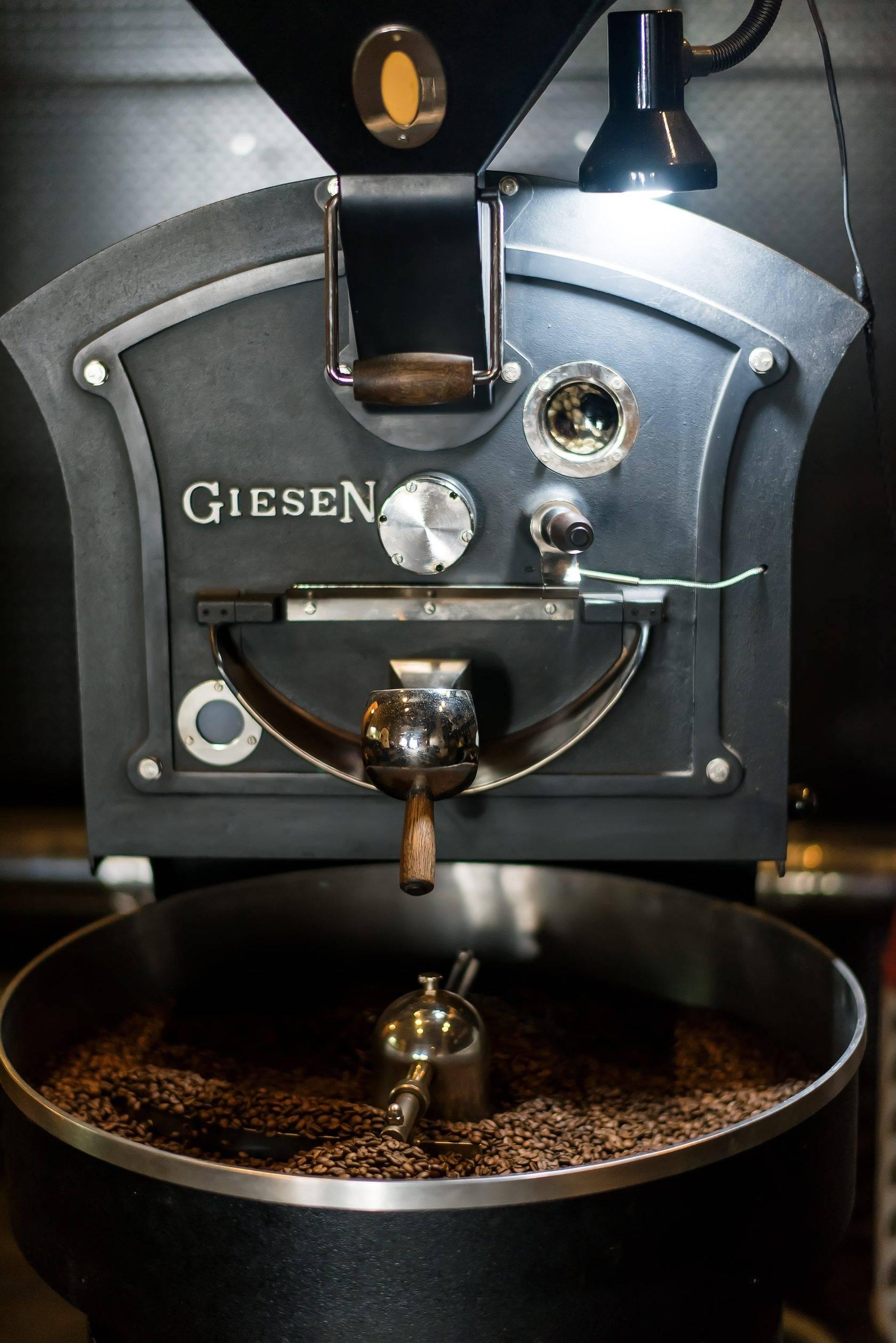 Промышленная и домашняя обжарка кофе