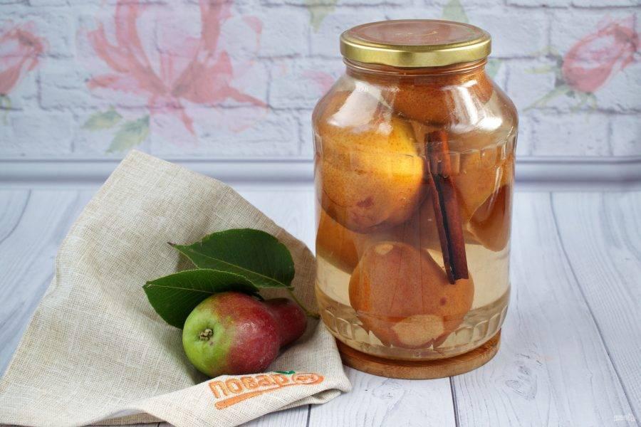 Компот из груш и яблок на зиму - рецепты ассорти для ребенка, в мультиварке и без сахара