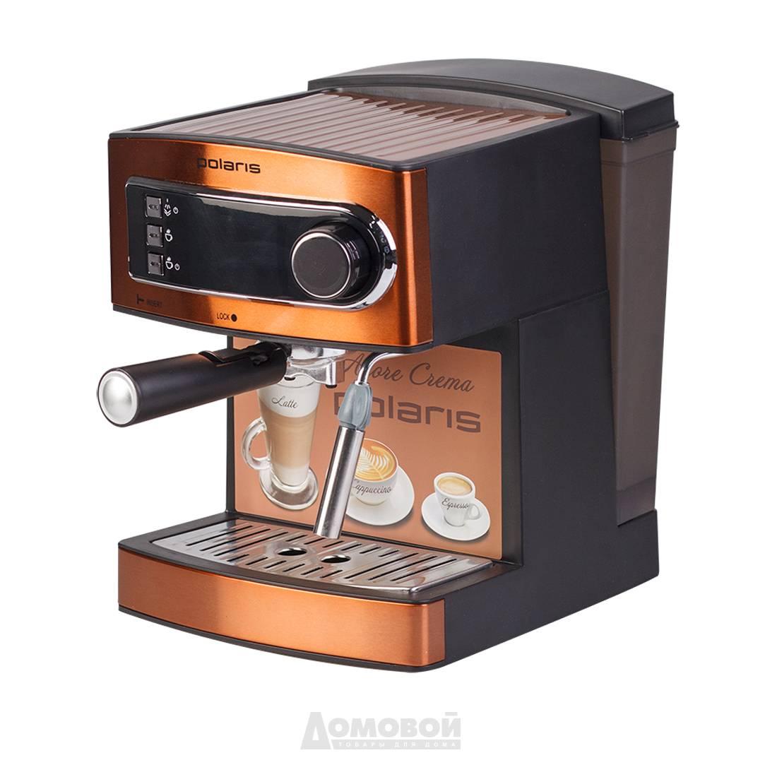 Рожковая кофеварка polaris (поларис) - о бренде, ассортимент, цены