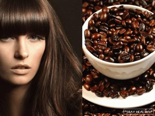 Окрашивание волос чаем и кофе